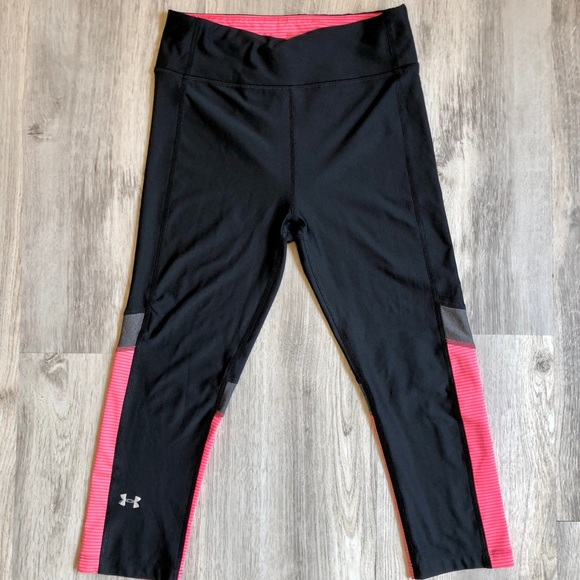 Under Armour Pants - Cute Under Armour Cropped Leggings Size Small